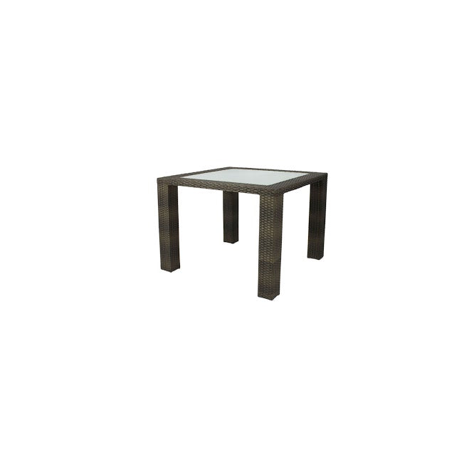 Zen Dining Table - Seats 4 (Square) in Espresso