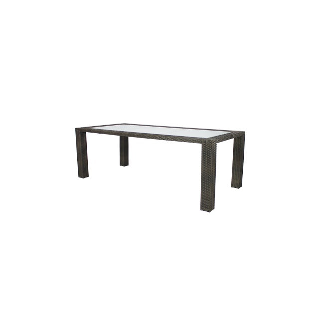 Zen Dining Table - Seats 6 (Rectangular) in Espresso