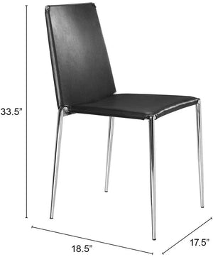 Zuo Modern Alex Dining Chair (Set of 4)