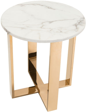 Zuo Modern Atlas Steel Frame End Table