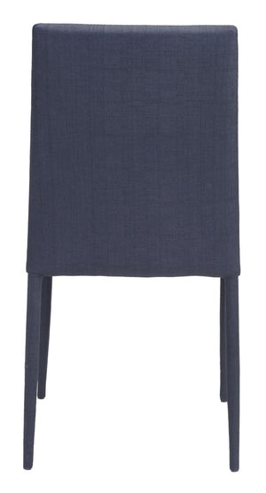 Zuo Modern Confidence Dining Chair in Black (Set of 4)