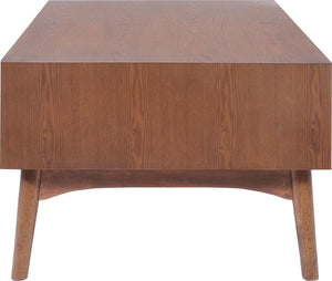 Zuo Modern Design District Walnut Coffee Table