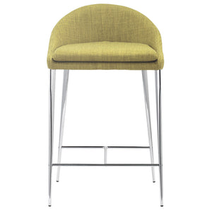 Zuo Modern Reykjavik Fabric Counter Chair (Set of 2)