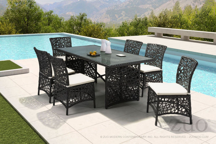 "Zuo Modern Santa Cruz 70.5"" Indoor/Outdoor Terra Brown Dining Table"