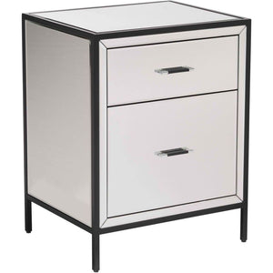 Zuo Modern Upton Mirror & Metal End Table