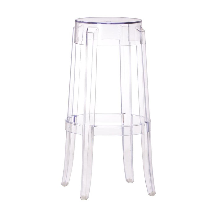 Zuo Modern Anime Clear Barstool