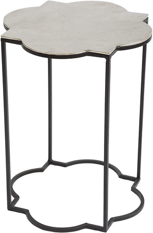 Zuo Modern Brighton Black & White Accent Table (Set of 2)