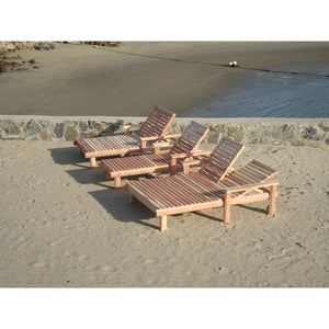 Double Beach Chaise Lounge