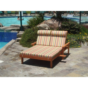 Double Summer Chaise Lounge