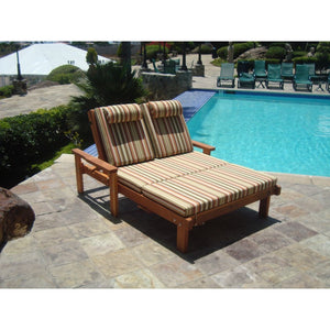 Double Sun Chaise Lounge