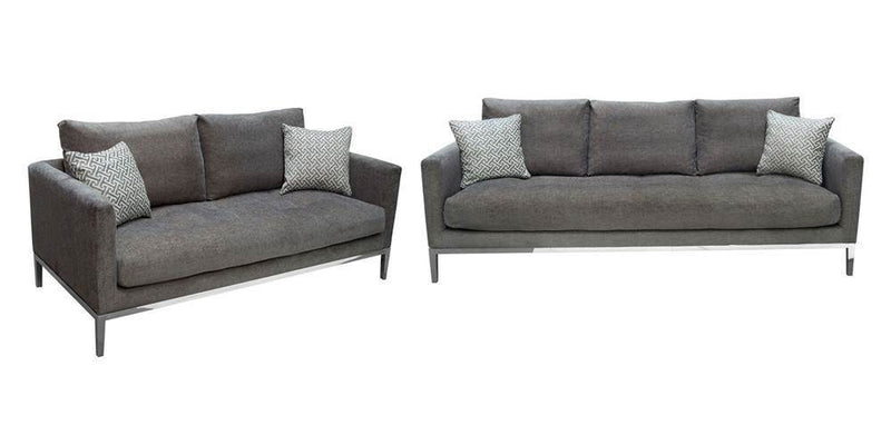 Chateau Loose Pillow Back Sofa and Loveseat Set