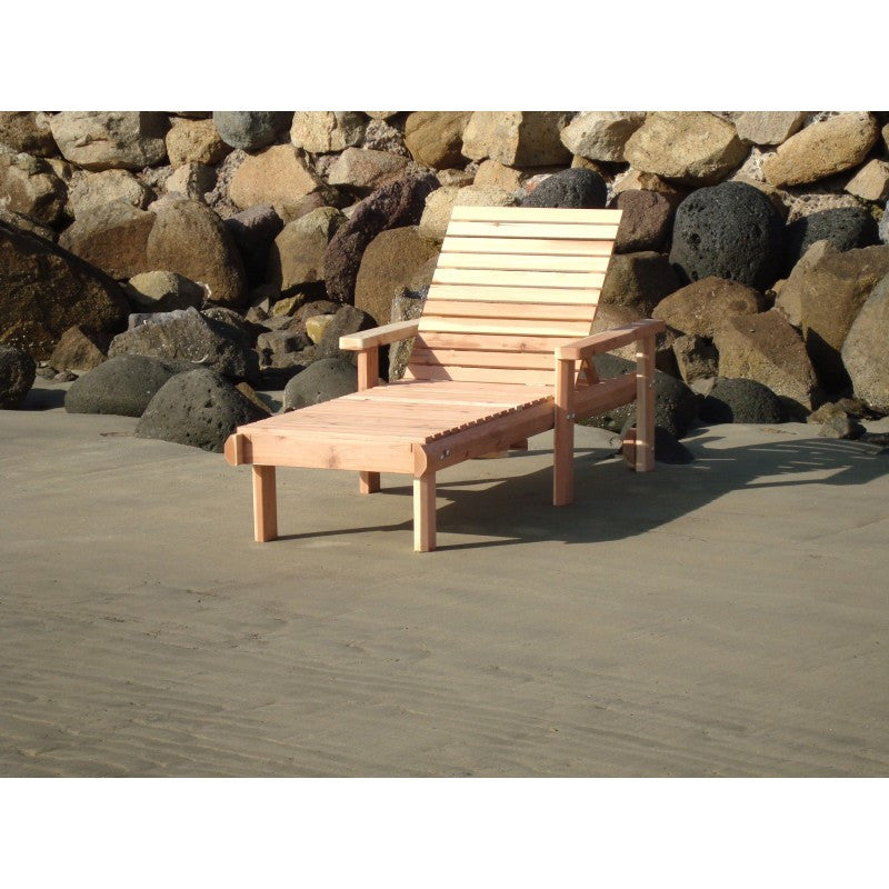 Single Beach Chaise Lounge