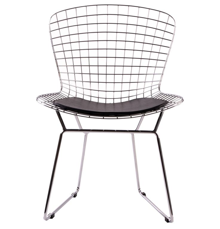 Wire/Mesh Chair Cushion - Black