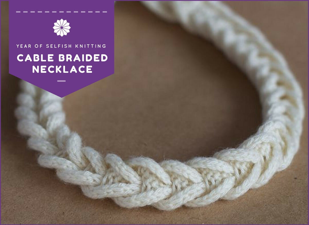Cable Braided Necklace Class at Ann's By Design
