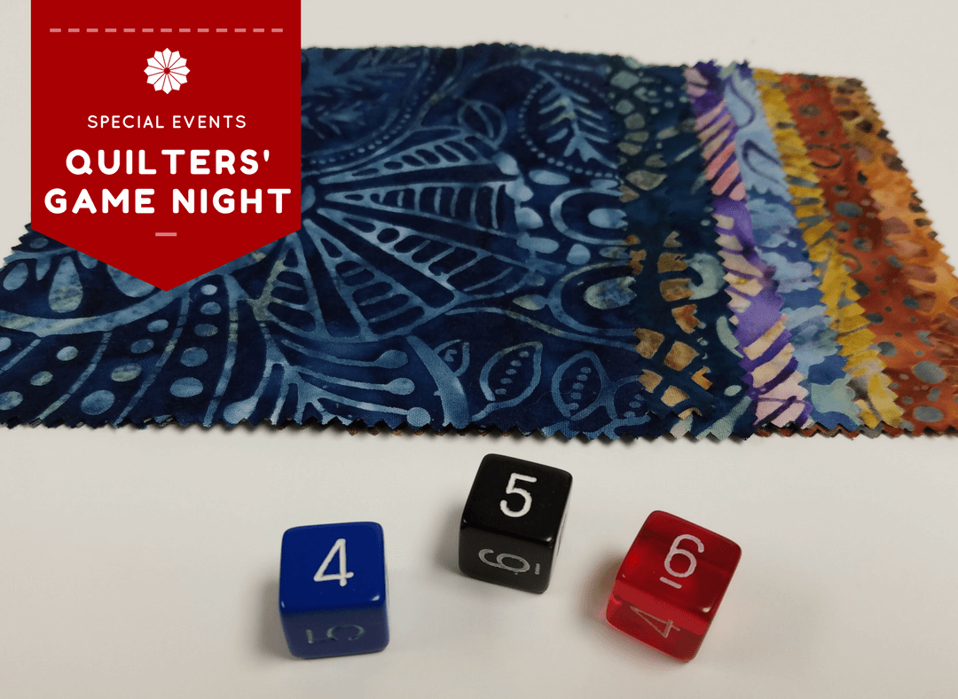 Quilters' Game Night