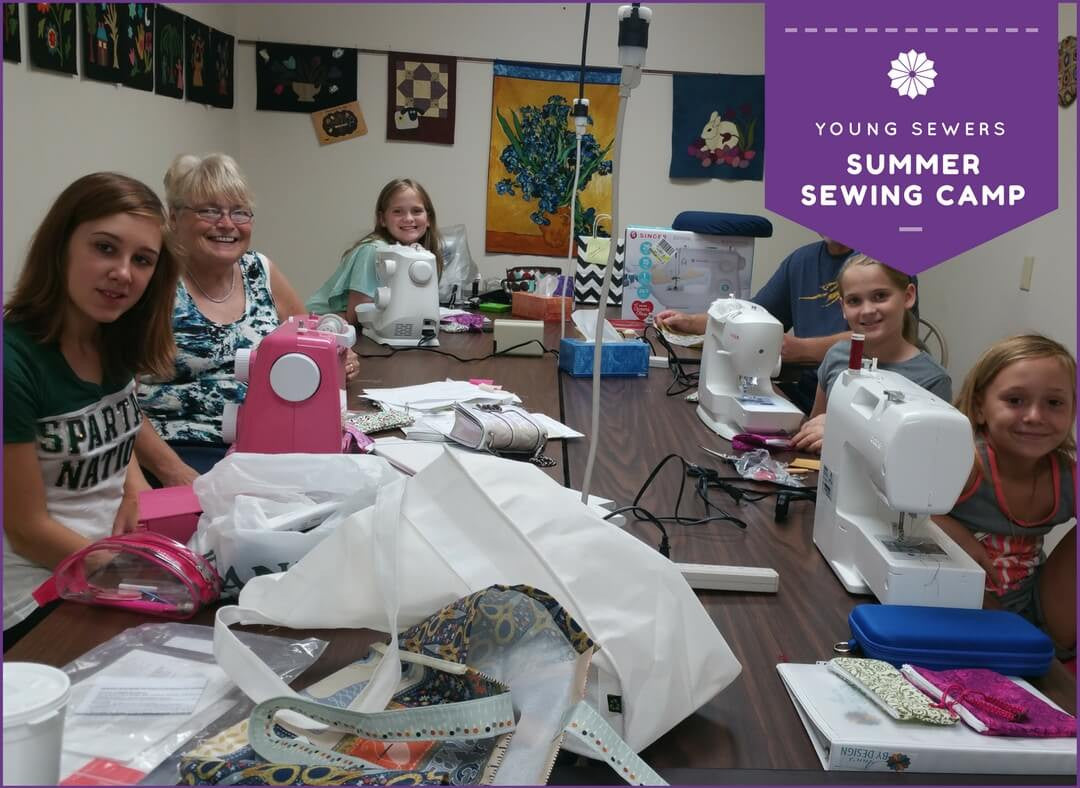 Summer Sewing Camp at Ann's By Design