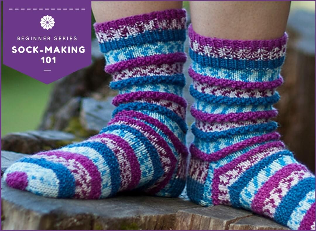 Sock-Making 101 with Linda Schwalm