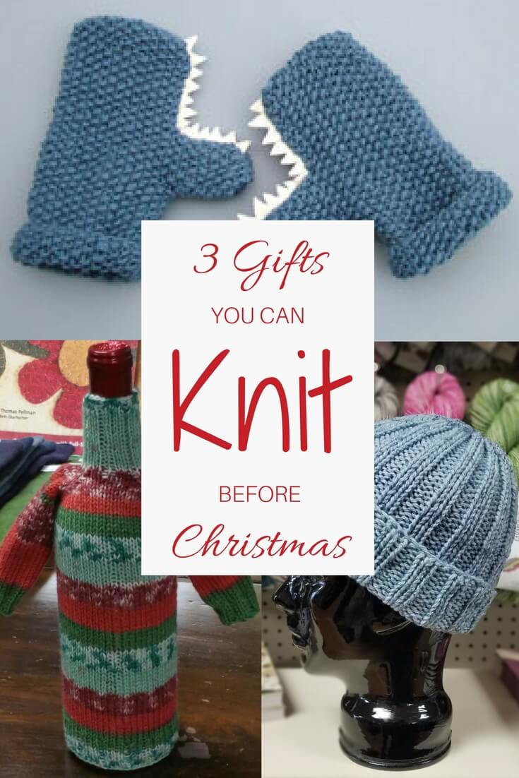 Three Gifts You Can Knit Before Christmas