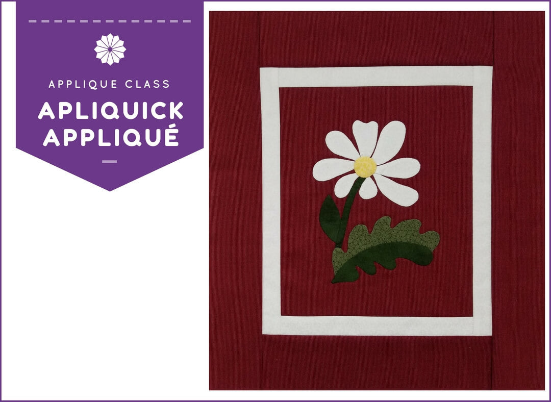 Apliquick Applique with Mary Clark