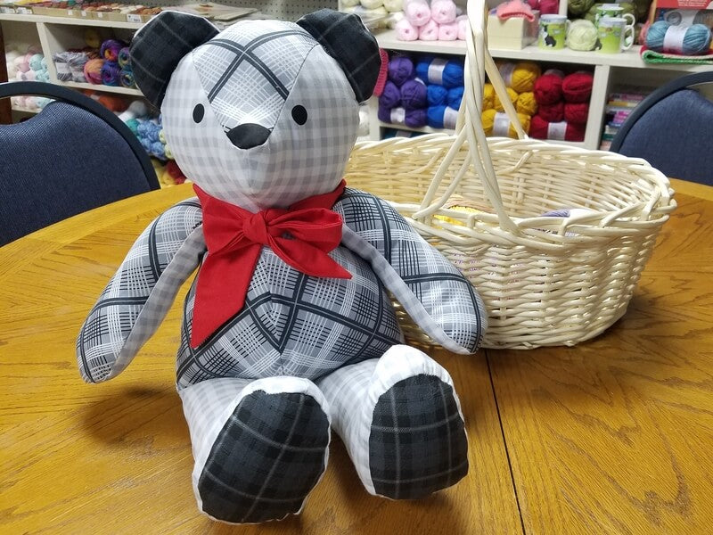 Christmas in July: Patches the Bear