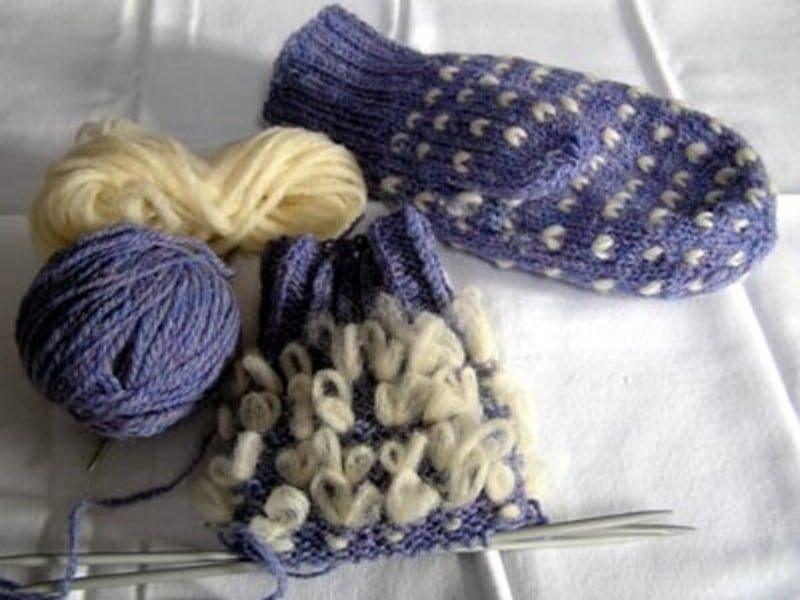 Christmas in July: Thrummed Mittens