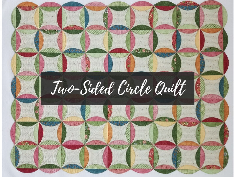 Two-Sided Circle Quilt