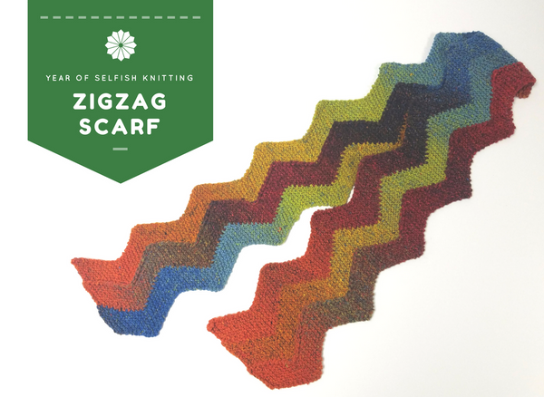 Zigzag Scarf Class at Ann's By Design