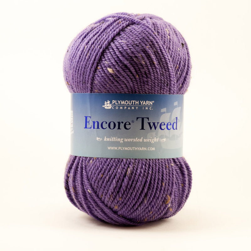 Plymouth Yarn Co. - Encore Worsted Tweed | Ann's By Design