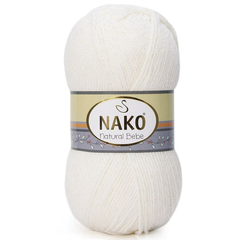 Natural Bebe - Nako Yarn | Ann's By Design