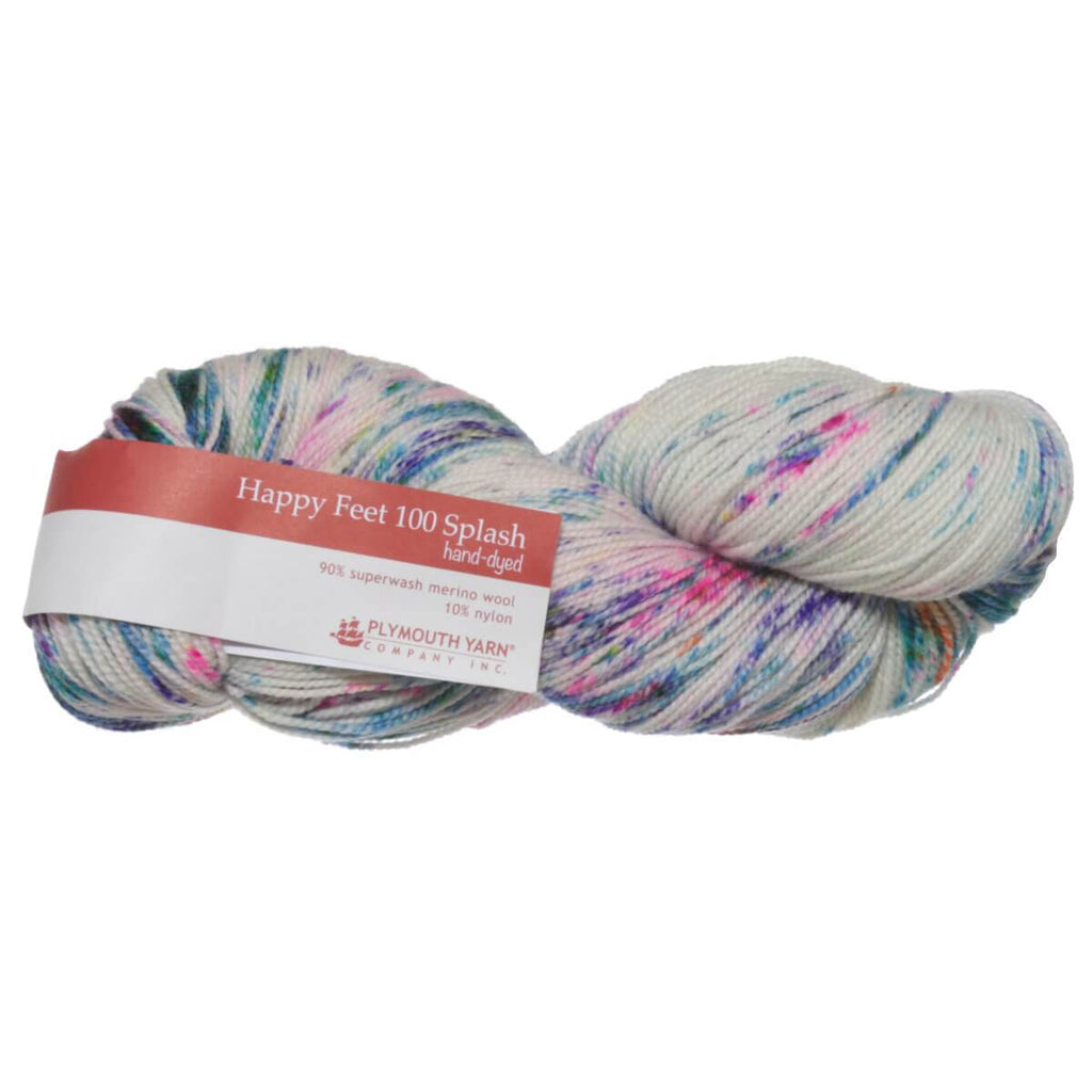 Plymouth Yarn Co. - Happy Feet 100 Splash Hand Dyed | Ann's By Design