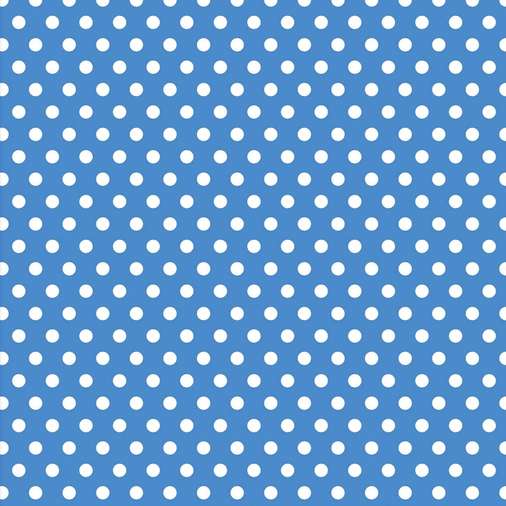 Carnivale Blue Dot Blue Fabric Yardage 12926-B | Ann's By Design