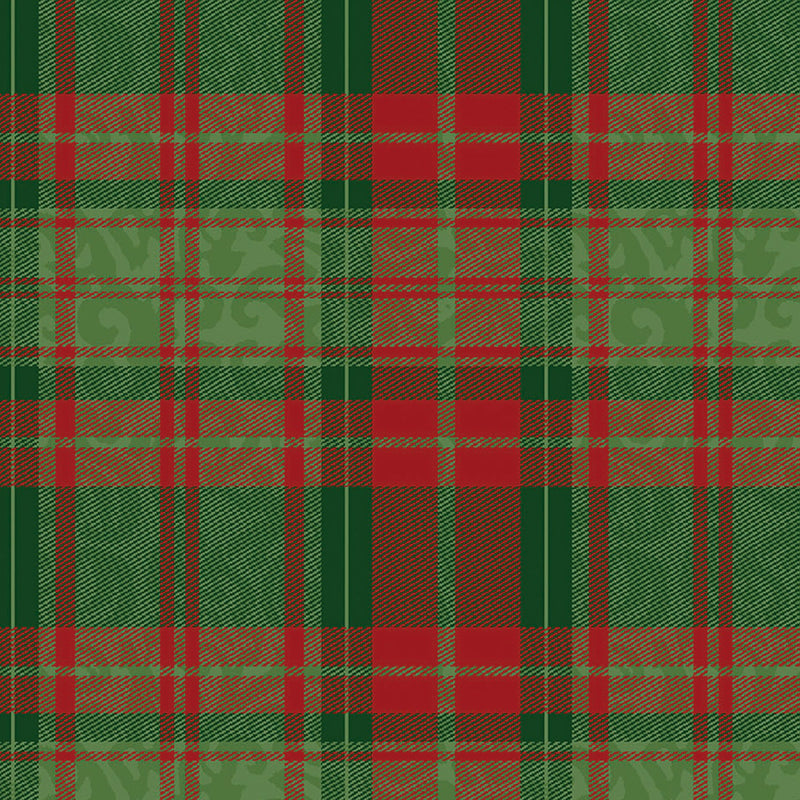 Christmas Garden Plaid Green/Red Fabric Yardage 13915-MULTI | Ann's By Design