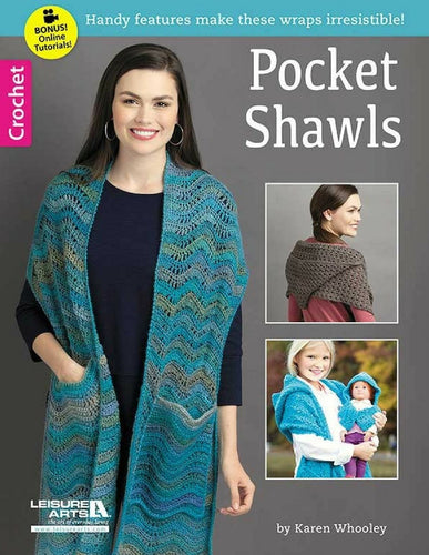 Crochet Pocket Shawls - Softcover