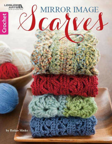 Crochet Mirror Image Scarves - Softcover