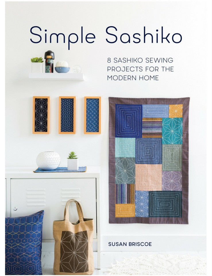 Simple Sashiko - Softcover | Ann's By Design