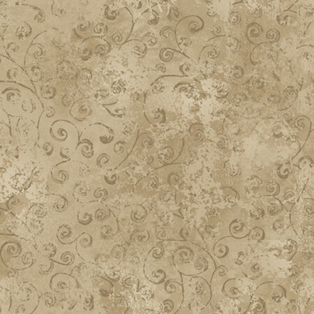 Quilting Temptations Driftwood Tan Fabric Yardage 22542-AK | Ann's By Design