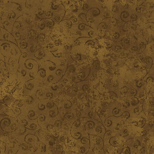 Quilting Temptations Bark Brown Fabric Yardage 22542-AU