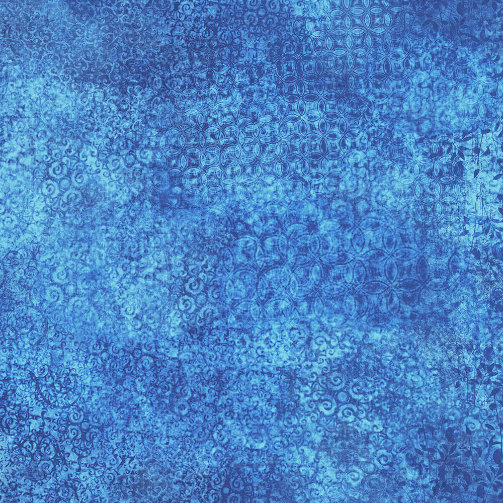 Scrollscapes II Lapis Fabric Yardage 24362-QY | Ann's By Design