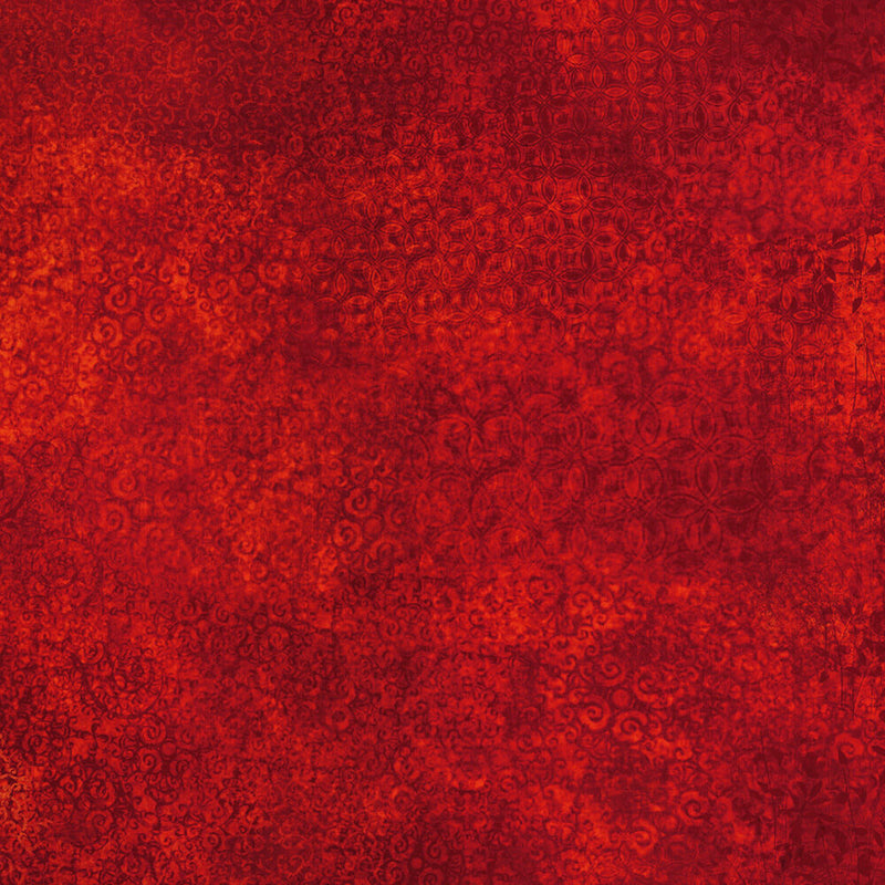 Scrollscapes Red Fabric Yardage 24362-R | Ann's By Design