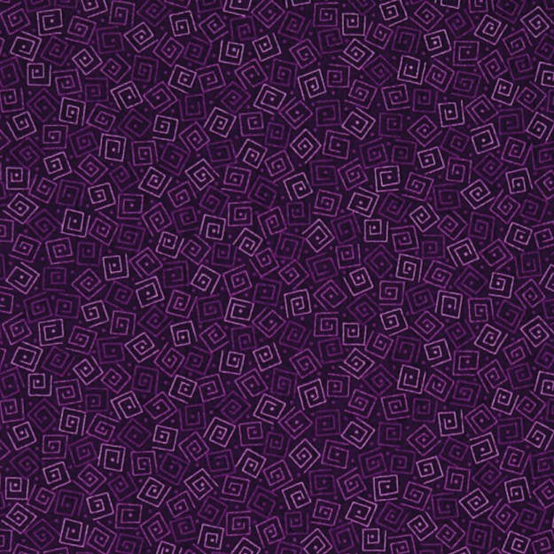 Harmony Cotton Squares Grape Fabric Yardage 24779-V | Ann's By Design
