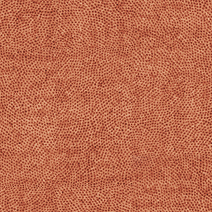 Queen of We'en Appliqueen Dot Texture Terracotta Fabric Yardage 25972-T | Ann's By Design