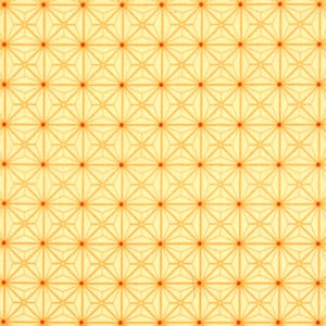 Sophia Diamond Geo Patch Yellow Fabric Yardage 26074-S | Ann's By Design