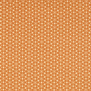 Sophia Dot Geo Orange Fabric Yardage 26076-O