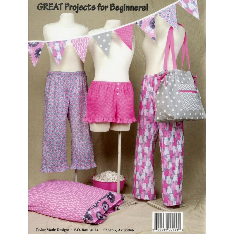 Sew Easy Pajama Pants by Cindy Taylor Oates - Softcover | Ann's By Design