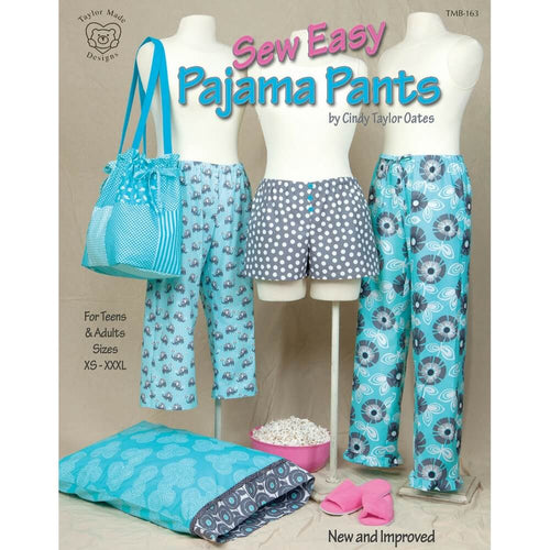 Sew Easy Pajama Pants by Cindy Taylor Oates - Softcover
