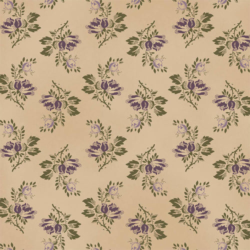 The Blue and The Grey c. 1860 - Green Bouquet Reproduction Fabric Yardage 42157-5