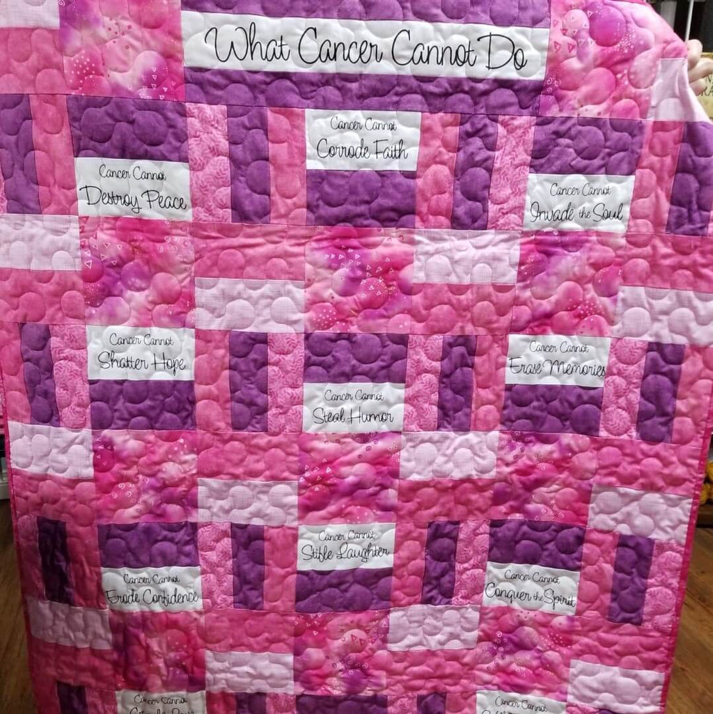 Survivor Quilts (includes backing + binding) | Ann's By Design