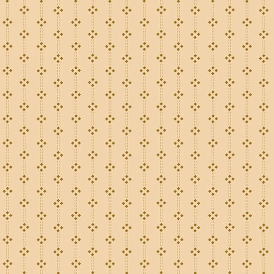 Butter Churn Basics by Kim Diehl Cream Diamond Stripe Fabric Yardage 6288-44 | Ann's By Design