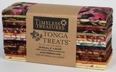 Tonga Treats 6in Strips 20pcs - Vineyard