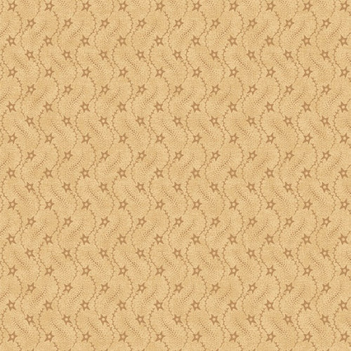 Harvest Blessings Cream Milky Way Star Fabric Yardage 8548-44